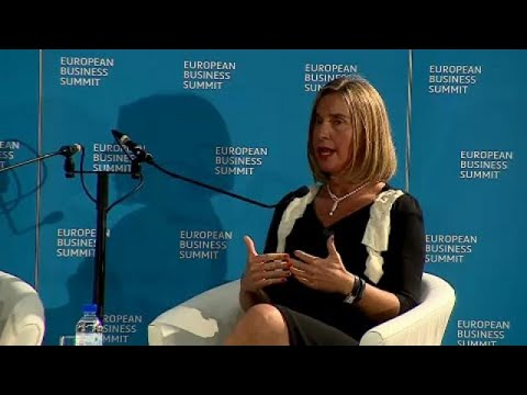 Φ. Μογκερίνι: Η ΕΕ μπορεί να παίξει παγκόσμιο ρόλο