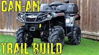 7. 2015 Can-Am Outlander XT 1000 Trail Build - Intro