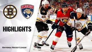 NHL Highlights | Bruins @ Panthers 12/14/19 by NHL