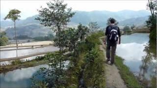 The YuanYang 元阳 rice terraces, YunNan province