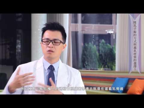 隆乳手術的方式與義乳材質的選擇?