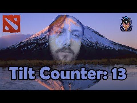 Untiltable Mountain Gorgc tilts a little (Gorgc Dota Highlights) (видео)