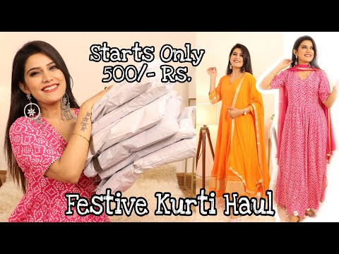 MEESHO Festive कुर्ती Haul | Affordable Kurti Haul | Super Style Tips