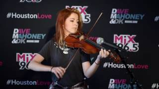 Lindsey Stirling - Hold My Heart /Acoustic performance