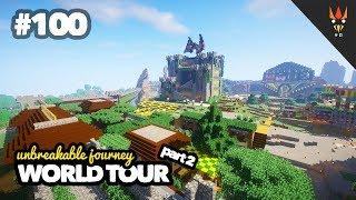 Video WORLD TOUR part 2 - Minecraft Indonesia #100 + Map Download MP3, 3GP, MP4, WEBM, AVI, FLV Agustus 2018