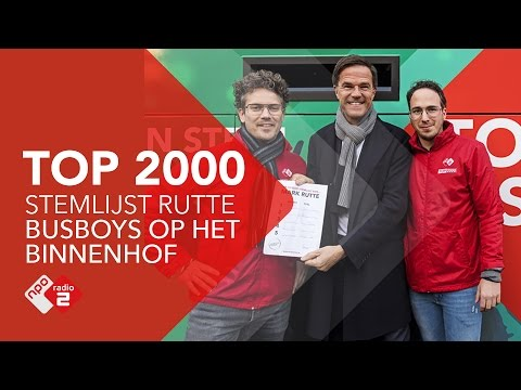 De Top 2000-stemlijst Van Mark Rutte | NPO Radio 2
