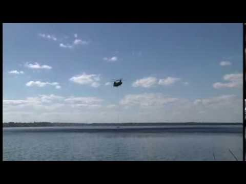 Florida National Guard Black Hawk and Chinook Helicopters – Wild Fire Training