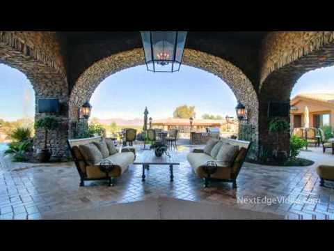 mansion videos - Take the Next Edge Video Luxury Home Tour! Amazing Paradise Valley, Arizona Mansion for sale. This 12 Million dollar estate boasts more the 11000 square fee...