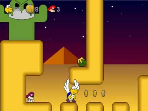 A Koopa's Revenge - Part 3: Sky Mountain, Dry Desert & Super Secret unlocking