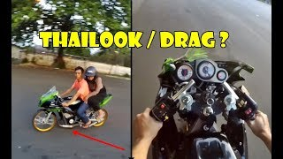 Video Testride Ninja RR - Ini Thailook apa Drag ? MP3, 3GP, MP4, WEBM, AVI, FLV April 2019
