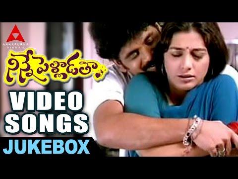 Video Ninnepelladatha Video songs Jukebox -  Ninnepelladatha Movie - Nagarjuna,Tabu download in MP3, 3GP, MP4, WEBM, AVI, FLV January 2017