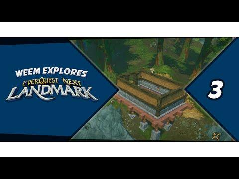 Everquest Next Landmark, Building Gameplay, Episode 3