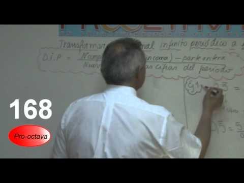 Transformar un decimal infinito peri�dico a fracci�n
