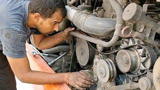 Video Scania Engine Repair Drive Belt Replacement MP3, 3GP, MP4, WEBM, AVI, FLV Juni 2019