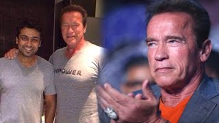 Arnold refused Western food for Idly&Dosa