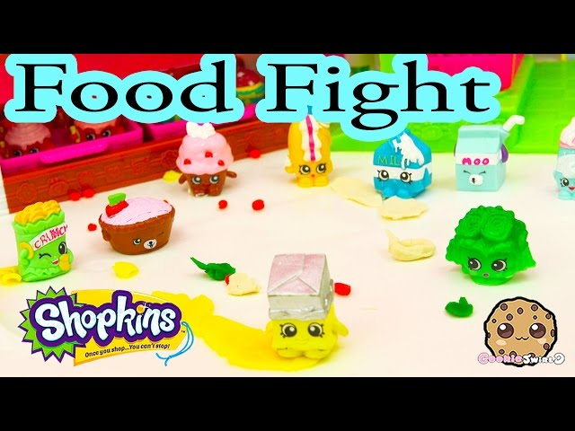 Playdoh-food-fight-with-shopkins