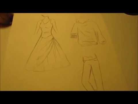 Manga zeichnen – Faltenwurf der Kleidung