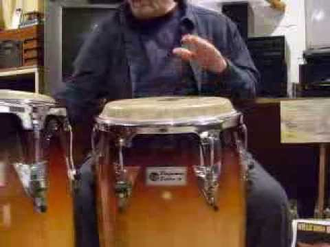 Johnny Conga plays Mozambique no 2 variations