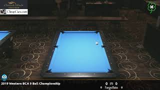 Day 4 - 2019 Western BCA 9 Ball Championship
