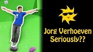 Jorg Verhoeven, Seriously!?   Sunday Sends by OnBouldering