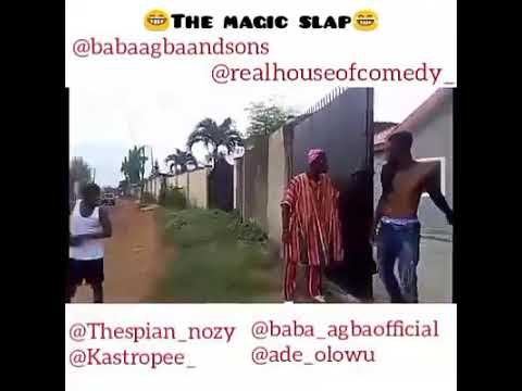 THE MAGIC SLAP THROW BACK VIDEO ||REAL HOUSE OF COMEDY