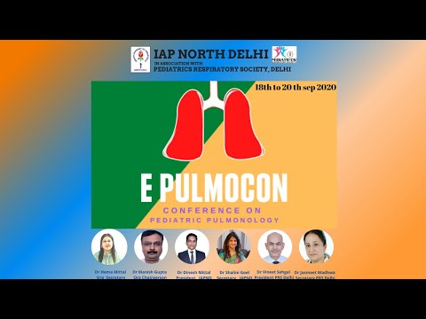 e Pulmocon 2020 Day 1 18.9.20( Friday)
