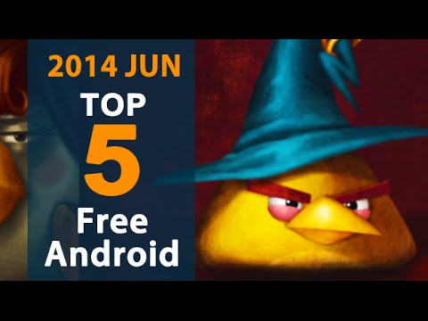 5 Best Free Android Games of June 2014