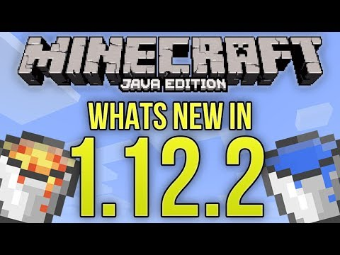 Whats New In Minecraft 1.12.2 Java Edition?