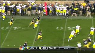 Manti Te'o vs Michigan (2012)