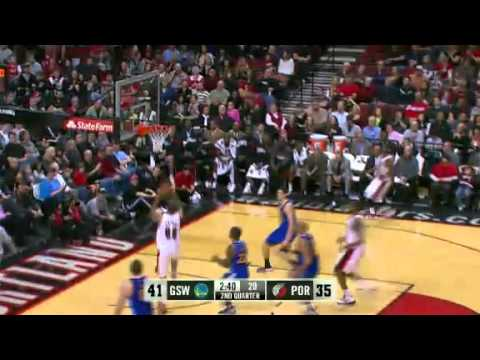 Nicolas Batum One-On-Five against Warriors