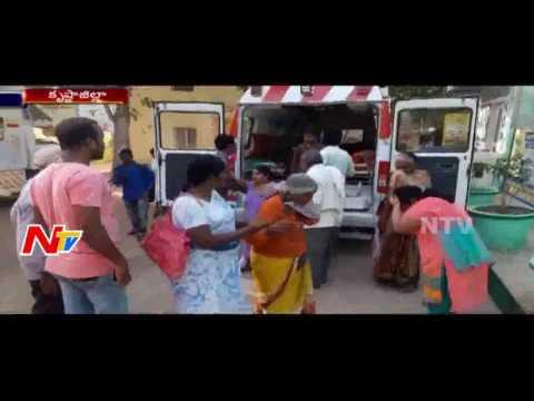 Bus-Overturns-Due-to-Driver-Illness-Krishna-NTV