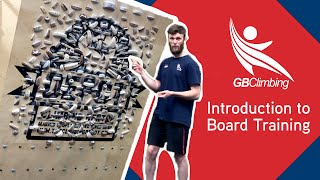 Introduction to Board Training with GB Climbing Coach Liam Briddon by teamBMC