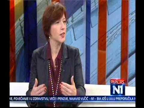 Наташа Вучковић за ТВ Н1: ДС уморна од ''лидера'' који би да спасу странку (12.11.2015)