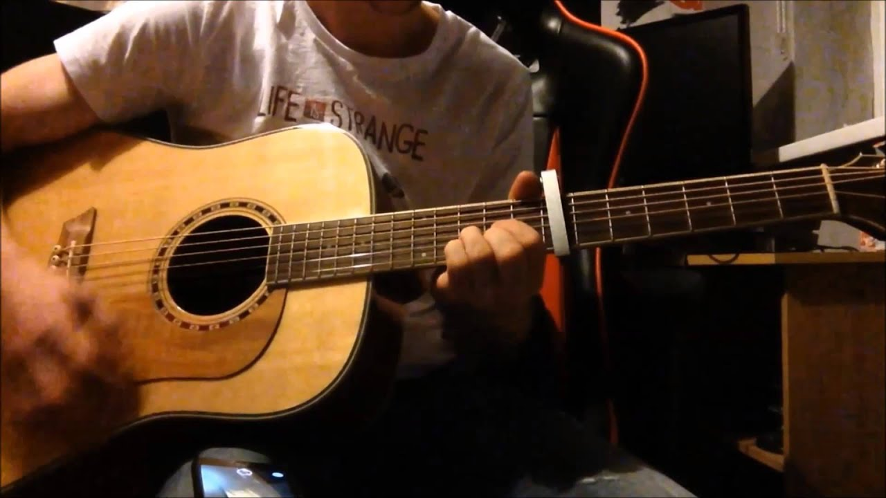 Playing songs from Life Is Strange on Acoustic Guitar