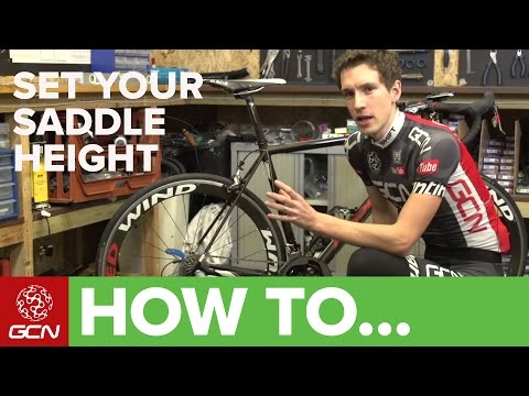 How To Set Your Road Bike's Saddle Height - Tips For Getting Your Saddle Position Right