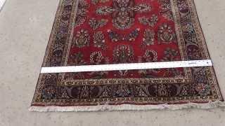 Beautiful 6x4 Red Persian Carpet Sarouk Oriental Rug On EBay
