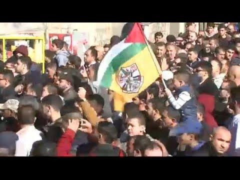 Καζάνι που βράζει η Παλαιστίνη