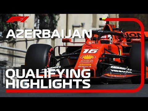 2019 Azerbaijan Grand Prix: Qualifying Highlights