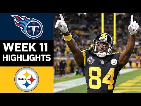 Video: Titans vs. Steelers | NFL Week 11 Game Highlights