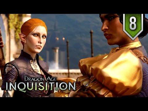 Dragon Age: Inquisition – Episode 8 ★ Movie Series / All Cutscenes 【Elven Female Mage Edition】