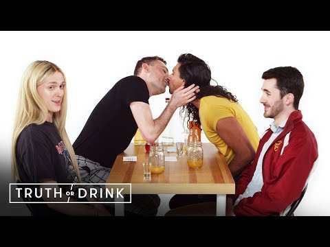 Double Blind Dates Play Truth or Drink (Drew, Joe, Marvin, & Winston) | Truth or Drink | Cut