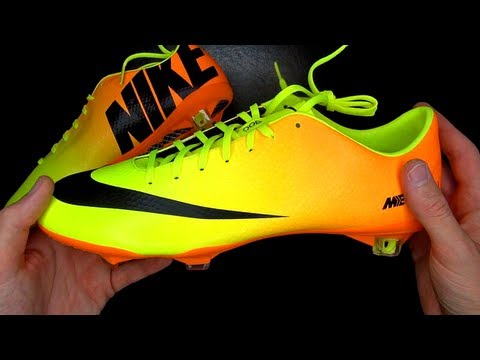 Mercurial - Nike Mercurial Vapor 9 Yellow/Orange/Gelb 2013 | freekickerz New Boots of: Götze, CR7, Ribery, Hazard, El Shaarawy ▻ Facebook: http://on.fb.me/JIG9fm || Twit...