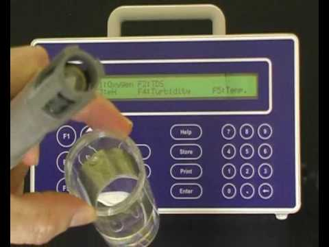 TPS Dissolved Oxygen Calibration