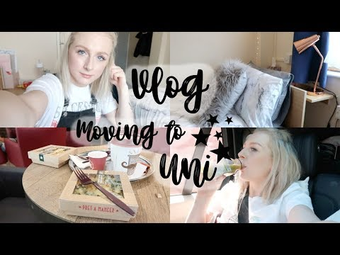 VLOG | MOVING TO UNIVERSITY | EMILY ROSE