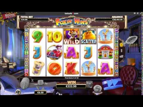 Foxin Wins Slot 1955.50€ BIG WIN!