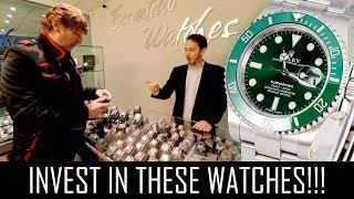 Video THE BEST INVESTMENT WATCHES YOU CAN BUY!! MP3, 3GP, MP4, WEBM, AVI, FLV Maret 2019