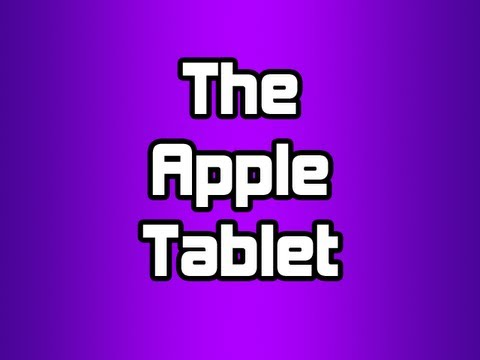 The Apple Tablet?