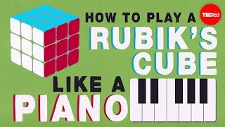 Group theory 101: How to play a Rubik's Cube like a piano – Michael Staff