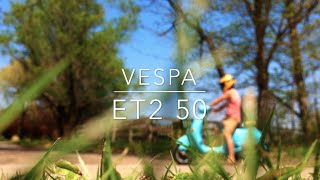 7. Vespa ET2 50 Full Review