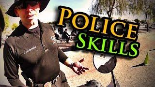 8. HONDA XR650L | Police Skills Test